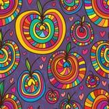Apple style love seamless pattern Stock Photo