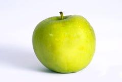 Apple su bianco Fotografia Stock