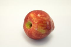 Apple su priorità bassa bianca Fotografia Stock Libera da Diritti