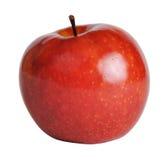 Apple su una priorità bassa bianca Fotografia Stock Libera da Diritti