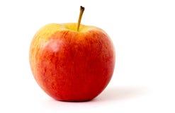 Apple su una priorità bassa bianca Immagine Stock