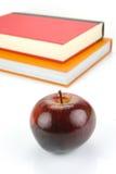 Apple sui libri Immagine Stock Libera da Diritti