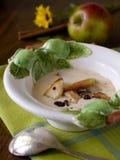 Apple-Suppe Stockfoto