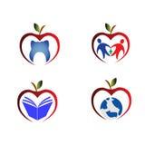 Apple symboler Royaltyfri Fotografi