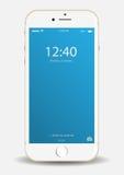 Apple téléphonent Photo libre de droits