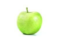 apple tło białe zielone Obraz Royalty Free