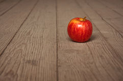 Apple on table Stock Image