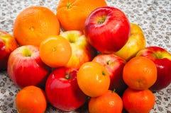 Apple, Tangerine and Oranges Royalty Free Stock Photo