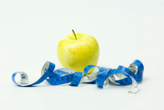 Apple Tape Royalty Free Stock Photo