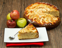 Apple Tart Stock Photo