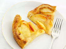 Apple Tart. Dusted with cinnamon Royalty Free Stock Photography