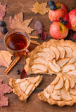 Apple tart Royalty Free Stock Photo