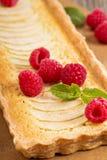 Apple tart with frangipane Royalty Free Stock Image