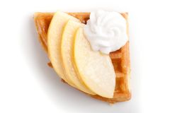 Apple Tart Slices Royalty Free Stock Images