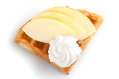 Apple Tart Slices Stock Images