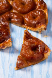 Apple tart tatin Royalty Free Stock Photos