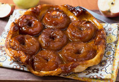 Apple tart tatin Stock Images