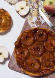 Apple tart tatin Stock Image