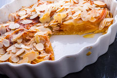 Apple tart with zimt Royalty Free Stock Image