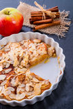 Apple tart with zimt Royalty Free Stock Images