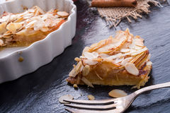 Apple tart with zimt Stock Photo