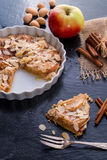 Apple tart with zimt Stock Images