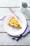 Apple tarte με τη ζάχαρη Στοκ φωτογραφία με δικαίωμα ελεύθερης χρήσης