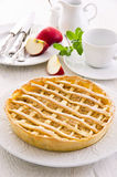 Apple Tarte with Fresh Apples Royalty Free Stock Photo
