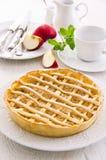Apple Tarte with Fresh Apples Royalty Free Stock Photo