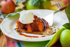Apple Tarte Tatin Royalty Free Stock Photography