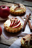 Apple tartlets Stock Images