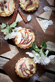 Apple tartlets Royalty Free Stock Images