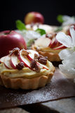 Apple tartlets Stock Photo