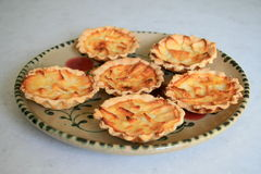 Apple tarts Royalty Free Stock Images