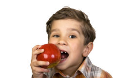 Apple taste Royalty Free Stock Images