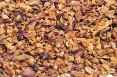 Apple tea. Closeup of a pile of apple tea Royalty Free Stock Photo