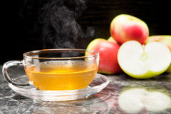 Apple tea Royalty Free Stock Image