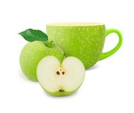Apple tea Royalty Free Stock Images