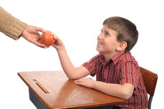 Apple for teach stock image