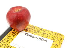 Apple for the teacher Royalty Free Stock Image