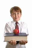 Apple for the teacher Stock Image
