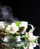 Apple-Tee stockbild