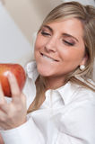 Apple temptation Stock Photo