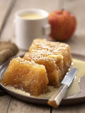 Apple terrine Royalty Free Stock Images