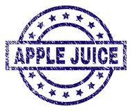 APPLE texturisé rayé JUICE Stamp Seal illustration de vecteur