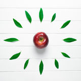 Apple of time Stock Photography