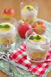 Apple Tiramisu Dessert Royalty Free Stock Photo