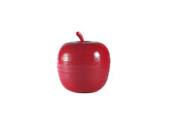 Apple toy. Toy apple in white background Royalty Free Stock Images