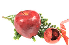 Apple and tree ball Stock Photo