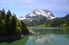 Spring in Switzerland Royalty Free Stock Photography